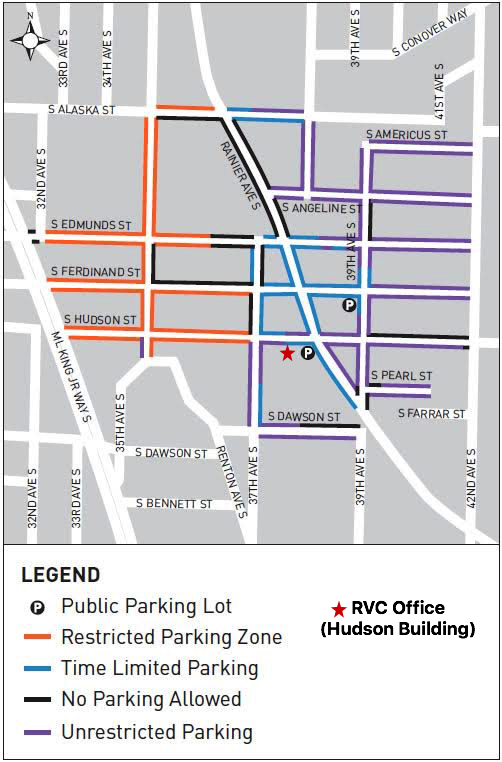 RVC Parking Map