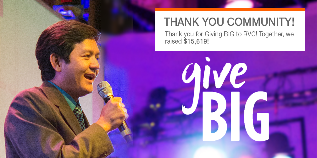 Thank You for Giving Big to RVC!
