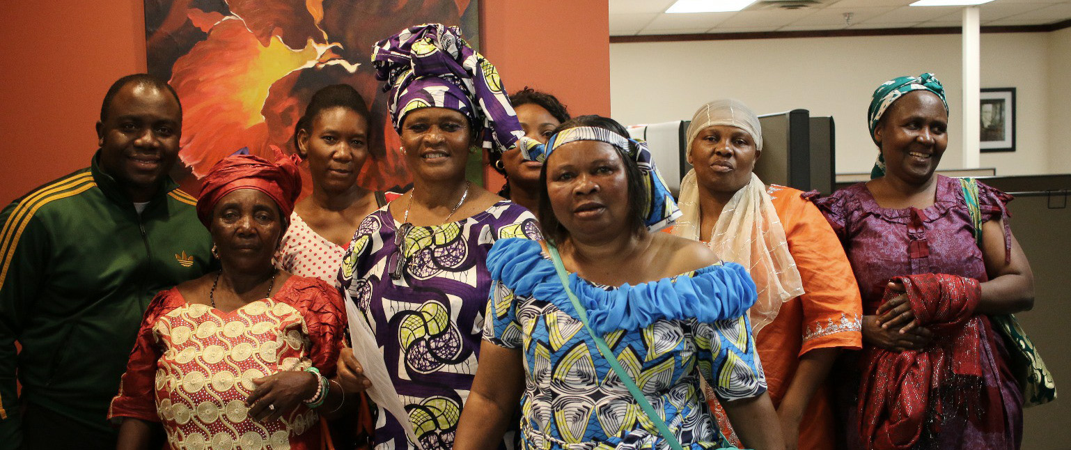 Photo from the Congolese Integration Network, used with permission