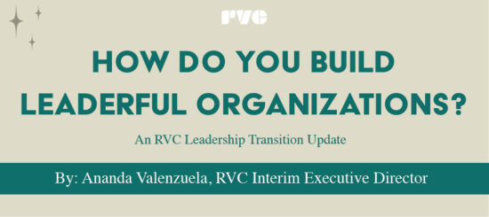 "Graphic with the text, ""How do you build leaderful organizations?"""